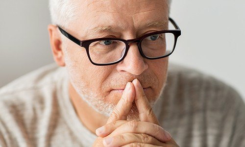 Older man considering options